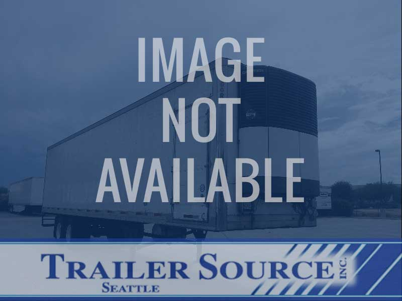 2001 Wabash TRI-AXLE DOOR DOOR HIGH CUBE (14') REEFER 53x102 Tri Axle Combination Thermo King Refrigerated Trailer, Spring, Sliding Axle